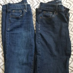 2 pairs Old Navy Jeans Size 4 Short